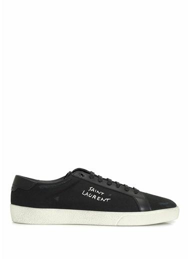 Saint Laurent Saint Laurent Court Classic  Erkek Sneaker 101622195 Siyah